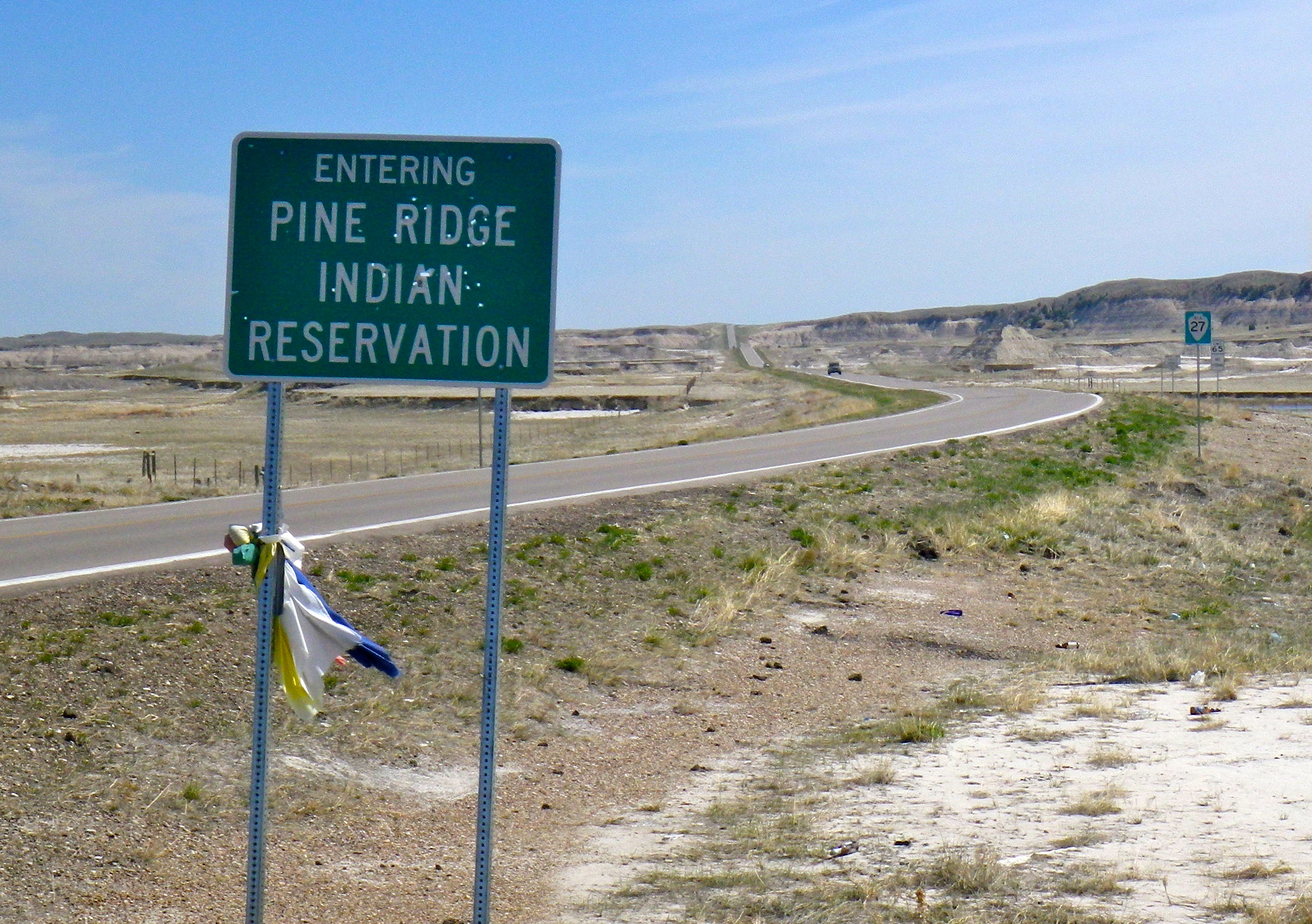 Indian Road Signs >> We're All Living on a Rez: My Week on Pine Ridge Indian Reservation – Urban-Shamanism.org